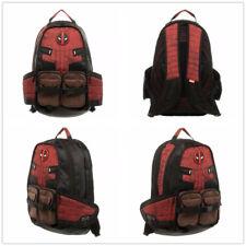 e364cd51d3 Xmas Gift Deadpool Backpack Travel Laptop Shoulders Bag Boys School Bag  Rucksack