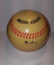 """MUSICAL WIND-UP BASEBALL STORAGE BOX"""" (Take Me Out To The Ball Game),"""