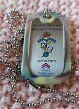 More details for reme royal electrical & mechanical engineers dog tag/reme prayer & mtp silencer