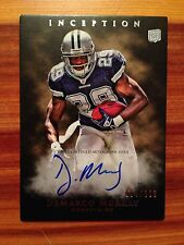 2011 Topps Inception DeMARCO MURRAY On Card Autograph Rookie Card # 004/800