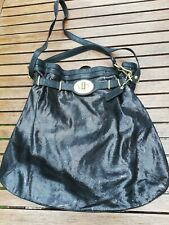 AUTHENTIC COACH EXTRA LARGE SHIMMER CAVIAR GENUINE LEATHER SHOULDER HOBO HANDBAG