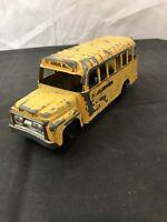 Vintage Hubley Die Cast School Bus
