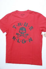 New True Religion Men Logo Red    Shirt XLARGE XL