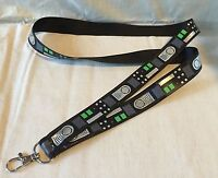 Darth Vader Belt Star Wars Inspired LIGHTWEIGHT Lanyard Key Chain R2D2 C-3PO