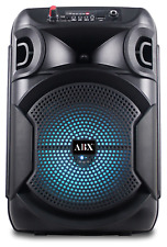 "Audiobox ABX-80R Rechargeable 8"" Bluetooth Speaker with Lights"