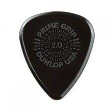 Jim Dunlop Prime Grip Delrin 500 Plectrum Players Pack Grey - 12 Pack - 2.00
