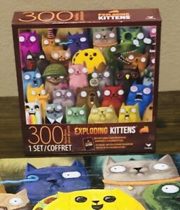 Exploding Kittens Picture Purrfect Cardinal 300 Large Piece Puzzle No Card