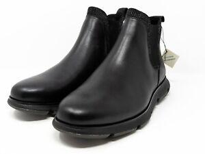 Cole Haan Zerogrand Waterproof Chelsea Boots Black C33455 Men's Size 8.5