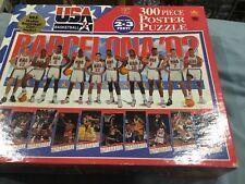 Barcelona 1992 Olympics USA Basketball PosterPuzzle -Dream Team NEW, Unopened