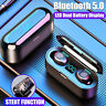 TWS Bluetooth 5.0 Headset Wireless Earphones Mini Earbuds Stereo Headphones 8D