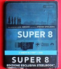 dvd+ blu ray steelbook metal box limited edition super 8 steven spielberg abrams