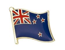 New Zealand Flag Lapel Pin 19 x 16mm Hat Tie Tack Badge Pin Free Shipping