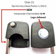 VW flip key for your OEM remote control clicker transponder fob entry NBG 8137 T