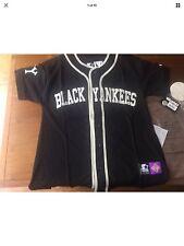 BNWT Nero Yankees Stile Classico Maglietta da Baseball-Museo REPLICA Stile Taglia XXL