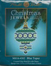 Christmas Jewels Blue Topaz Ornament by Mill Hill Bead Kit