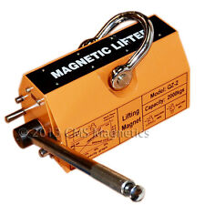 Heavy Duty Industrial Magnetic Lifter With 4400 Lb Lifting Power Neodymium Magnet