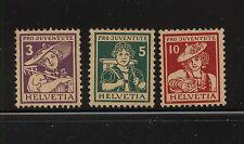 Switzerland  B4-6   Mnt   NH         catalog  $175.00            KEL0104