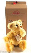 NEW STEIFF British Collectors Mohair Bear + Box  LTD TEDDY Ideal Gift 660955