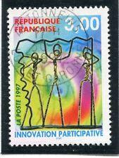 TIMBRE FRANCE OBLITERE N° 3043 INNOVATION PARTICIPATIVE Photo non contractuelle