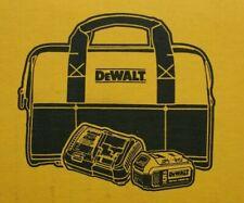 DeWalt 20V Max 5.0 Ah Battery with Dcb115 Charger & Bag Kit Dcb205Ck No Tool
