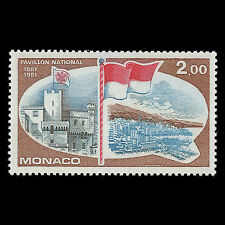 Monaco 1981 - 100th Anniversary of National Flag - Sc 1282 MNH