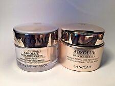 Lancome Absolue Precious Cells SPF 15&Masque Rituel Nuit Revitalisant Night .5ea