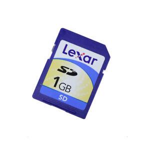 Genuine Lexar 1GB SD Card for Multi Use MM8GF01GWMCU-PA