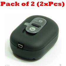2x Motorola Mini USB Travel Portable External Battery BackUp Charger Power Bank