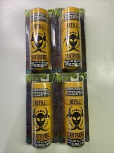 HASBRO Super Soaker Oozinator Refill Cartridge 20 SHOT Lot of 4!!!!