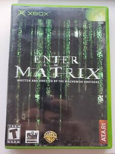 Enter the Matrix (Microsoft Xbox, 2003) Tested And Complete