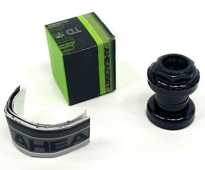 """Aheadset TD1 External Cup-Traditional Threaded Headset-1""""-Black"""