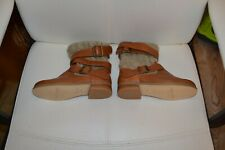 chaussure neuve 30  mellow yellow tricote laniere cuir superbe