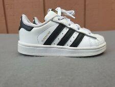 Adidas Superstar I BB9076 White Black Infant Toddler Baby Shoes Sizes 7k