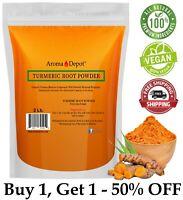 2lb Tumeric Root Powder 100% Pure Curcuma Longa 2 Libra Turmeric