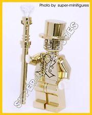 2x MR.GOLD Minifigures series 10 ( lego custom)