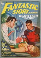 "Fantastic Story"" Winter 1951  GGA Cvr Bergey ; Clark A Smith"