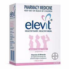 Elevit Vitamin and Mineral Pregnancy 100 Tablets *MICHAEL VASILI CHEMIST*