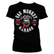 Officially Licensed Gas Monkey Garage- Round Seal Women's T-Shirt S-XXL Sizes