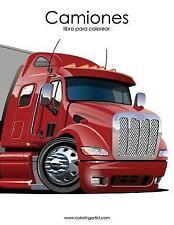 Camiones: Camiones Libro para Colorear 1 by Nick Snels (2016, Paperback,...