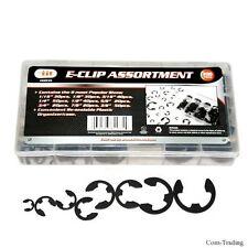 300-PC. Assorted E-Clips Retaining Rings Shop Auto Car Carburetor Repairs E Clip