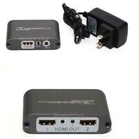 1X2 Powered HDMI Splitter (HSP-102M) PID 5418