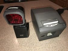Metrologic MS 6720 scanner & Star TSP700 printer, point of sale register