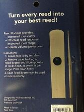 Reed Booster for Alto Saxophone  Designed in California