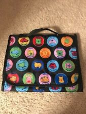 Best Friend Dog Theme Travel Cosmetic Bag~ Coin Purse- Black