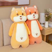 55-80cm Cute Shiba Inu Dog Plush Pillow Soft Stuffed Animal Baby Doll Plush Toys
