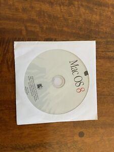 Vintage 1997 Mac OS 8 v8.0 Macintosh Software Install CD