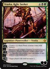 VRASKA, RELIC SEEKER NM mtg Ixalan Gold - Planeswalker Mythic