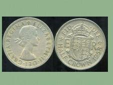 GREAT BRITAIN - ROYAUME UNI  half crown 1958   ( etat )