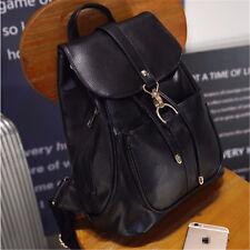 Women's Backpack Travel Leather Handbag Rucksack Shoulder School Bag Bags