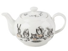 """Victoria and Albert V&A """"Alice in Wonderland"""" Mini Teapot by Creative Tops, 450m"""